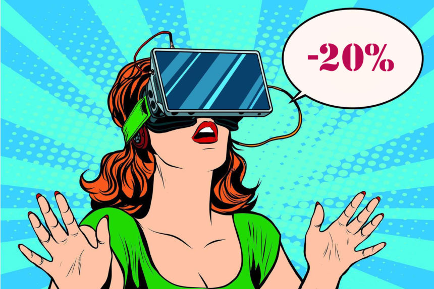 Акция! Скидки -20% всю осень в клубе виртуальной реальности U-ViW!